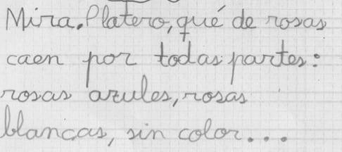 Aprendiendo a escribir con fosfenos y estimulación interhemisférica: alumno 1/3