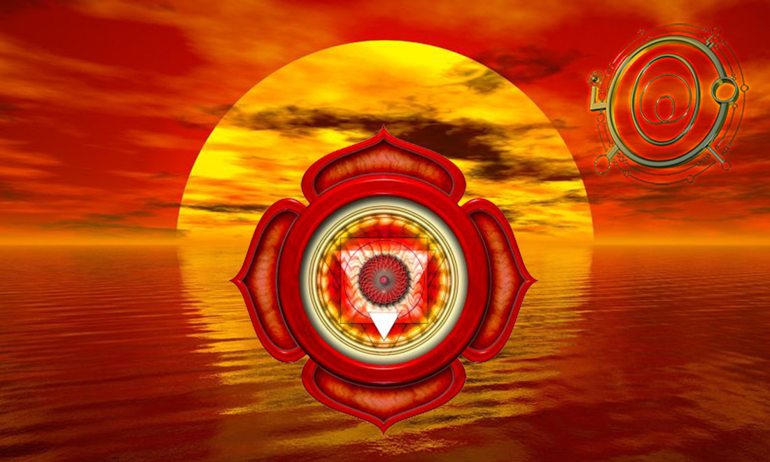 El chakra muladhara, chakra radical o chakra base