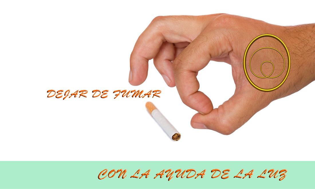 Dejar de fumar con luz