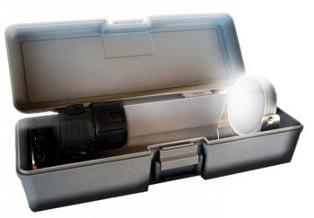 Caja con espejo de la lámpara iniciática