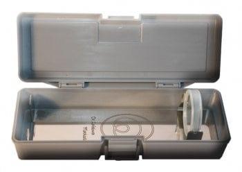 Fosfenos por luz polarizada con el box de la lámpara fosfénica iniciática de bolsillo