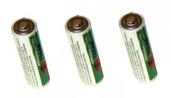 Pilas de la lámpara fosfénica de bolsillo