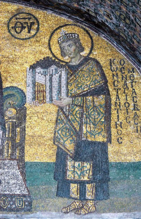 Juliano el Apóstata y el emperador Constantino