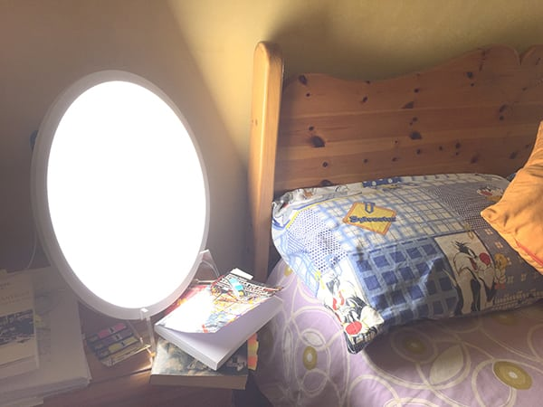 Superar el insomnio con luminoterapia