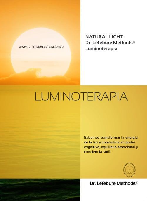 Luminoterapia y fosfenos de Dr. Lefebure Methods