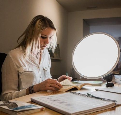 Ritmos circadianos y lámpara de luminoterapia